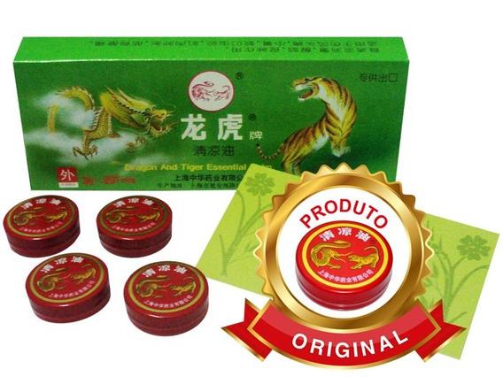 3 Pomada Japonesa (chinesa) Tigre/dragão Multiuso
