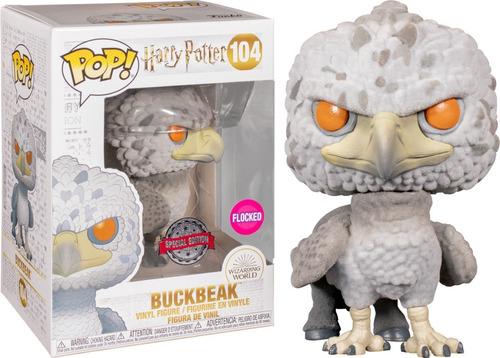 Funko Pop! Harry Potter - Buckbeak 104 - Flocked Exclusivo