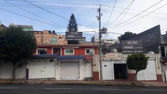 Venta De Casa Con Locales Y Terreno En Tlaxcala Centro