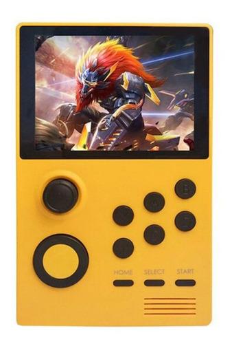 Consola PowKiddy A19 amarilla