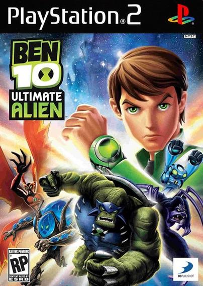 Ben 10: Ultimate Alien - Playstation 2