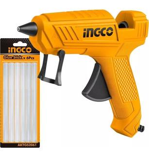 Pistola Silicona Caliente Ingco 100w Pro Gtía 1 Año - Tyt