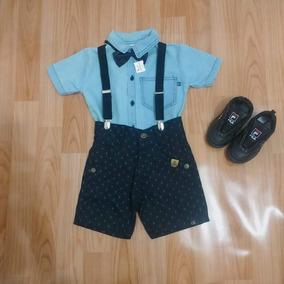 Conjunto Infantil Camisa E Calça Jeans