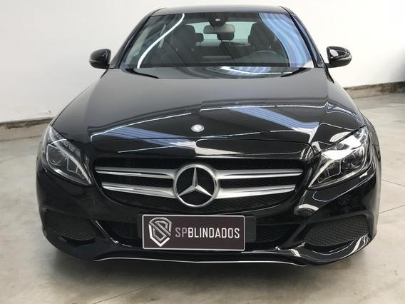 Mercedes C180 Avantgarde 1.6t 2016 Blindada Autostar Niiia