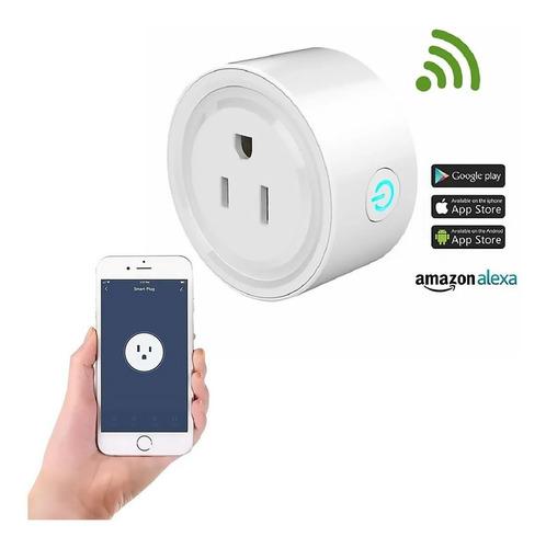 Enchufe Inteligente Wifi Smart Plug Alexa + Cable Otg