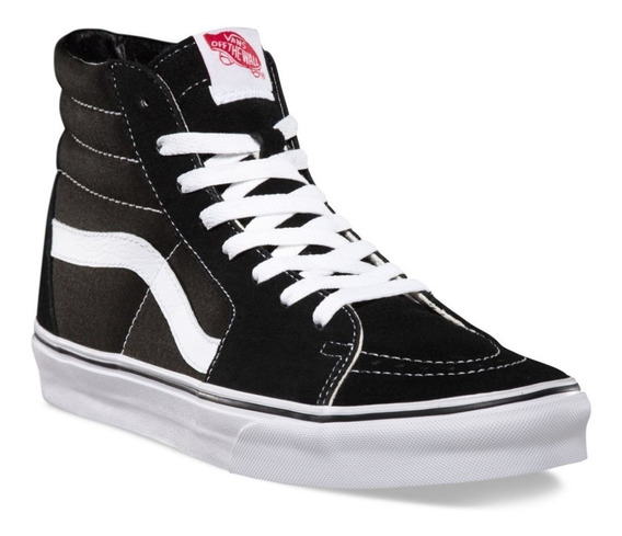 Zapatillas Vans Sk8 Hi Black/white Vn000d5ib8c