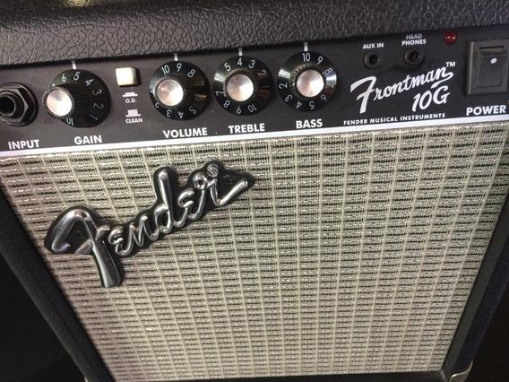 Amplificador Fender Frontman 10g Para Guitarra Eléctrica