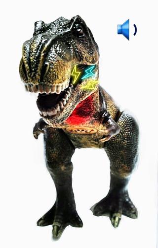 Imagen 1 de 3 de Dinosaurio De Juguete 45cm Detalles Realistas