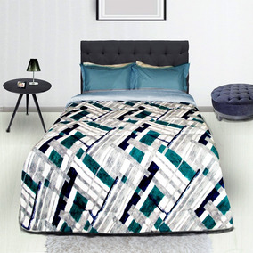 Coberdrom Super Soft Casal Queen Edredom Felpudo Textil Lar