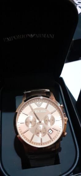 Reloj Armani Color Oro Rosado