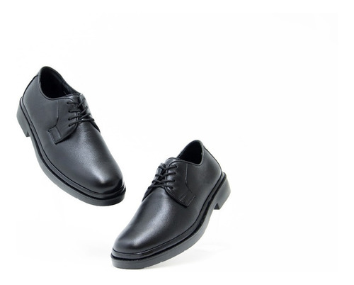 Imagen 1 de 5 de Zapatos Comodos Caballero Quirelli 85101 Negro 100% Original
