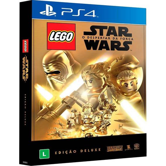 Lego Star Wars Ps4 Midia Fisica Novo Lacrado Edição Deluxe