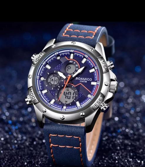 Relógio Casual Esportivo Boamigo 5atm