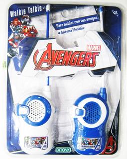 Vengadores Walkie Talkie Handys Avengers Marvel Orig Ditoys