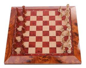 Jogo De Xadrez Magnético Imita Madeira High-end Chess Master