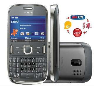 Celular Nokia 302,3 G, Novo, Anatel Simples Sinal Forte