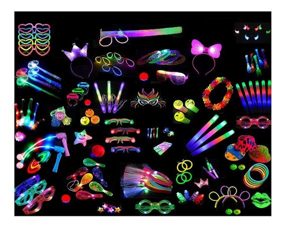 Combo Cotillon Luminoso 70 Art Cumple Infantil Teen Party