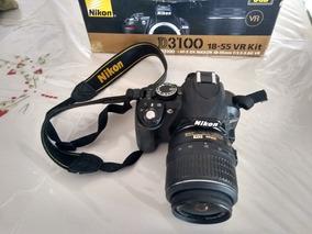 Câmera Nikon D3100 Novinha + Lente 18-55mm