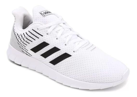 Tênis adidas Asweerun Masculino Branco/preto Original C/nota