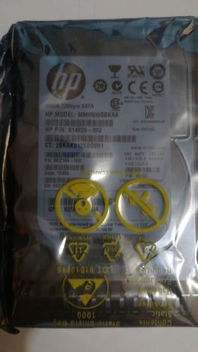 Hp 614829-002 G8 G9 500-gb 6g 7.2k 2.5 Sata