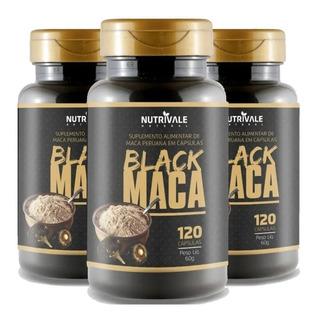 maca peruana negra 120 caps
