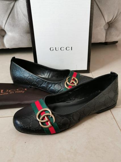 Mocasines Ballerinas Flats Gucci Lv Ferragamo Dama Envio Gr