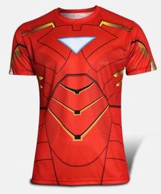 Camisa Camiseta Homem De Ferro Super Herois