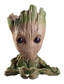 Vaso Porta Treco Caneta Baby Groot Guardiões Da Galáxia 14cm