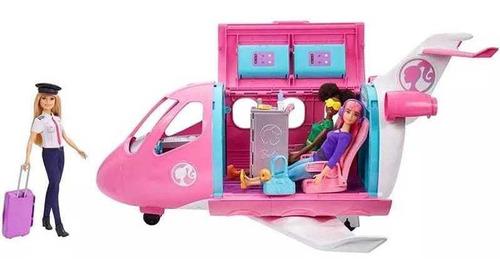 Jet Avion Barbie Incluye Muñeca Mattel Original Y Nuevo