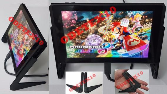 Nintendo Switch Suporte Case Adaptador Jogo Base Mario Zelda