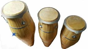 Trio Conga Rum Rumpi Lê Atabaque C/ Suporte
