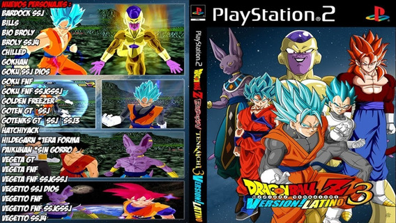 Dragon Ball B.t.3 Latino Versão Ps2