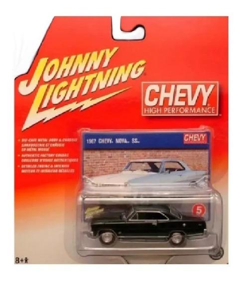 Johnny Lightning 1967 Chevy Nova Ss Ruedas Goma Solo Envios