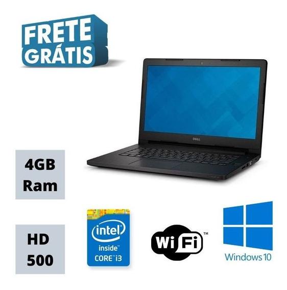 Dell Ultrabook 3450 Intel Core I3 4gb Hd 500gb Win 10 Hdmi !