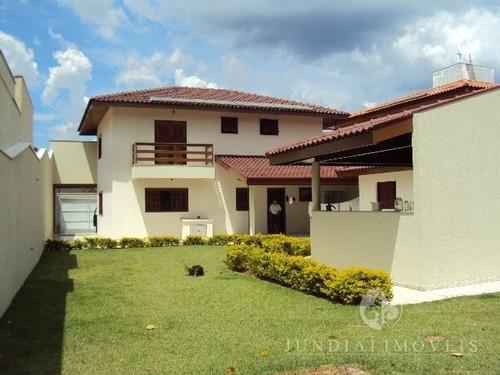 Vendo Excelente Casa No Jardim Das Samambaias Em Jundiaí, 340 M² De Área Construída, Três Suítes. - Ca00131 - 2734833