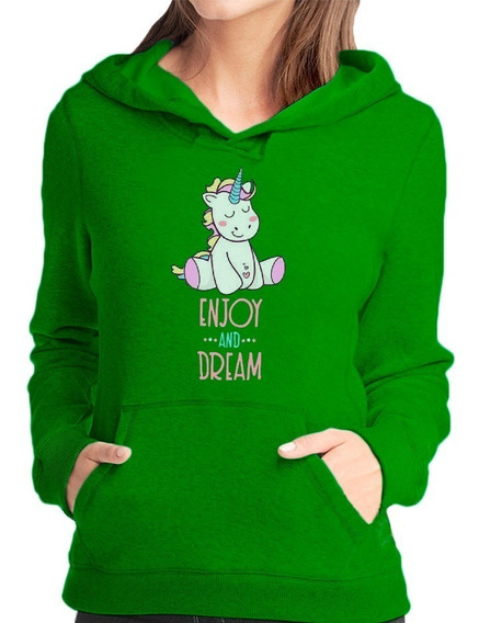 Casaco Feminino Moletom Unicornio Blusa Frio Alien Galaxia