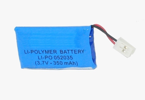 Bateria Li-po 3,7v 350mah Retangular Li-polymer (052035)