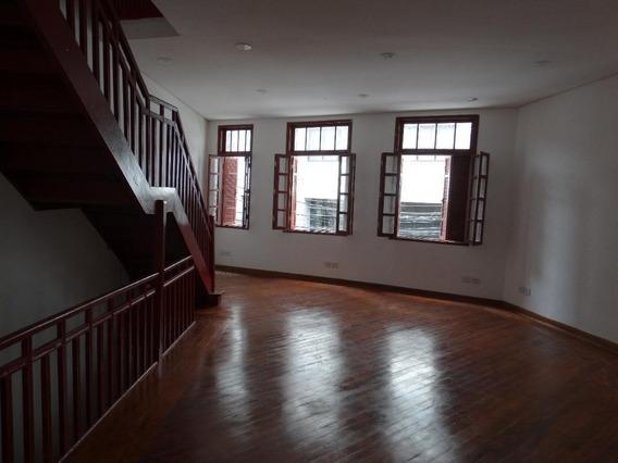 Sala Em Centro, Santos/sp De 120m² Para Locação R$ 2.000,00/mes - Sa326345