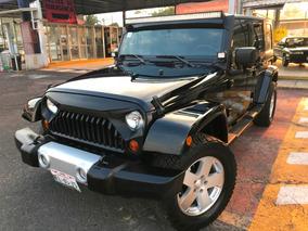 Jeep Wrangler X Sahara Unlimited 4x4 Aut C/accesorios Perfec