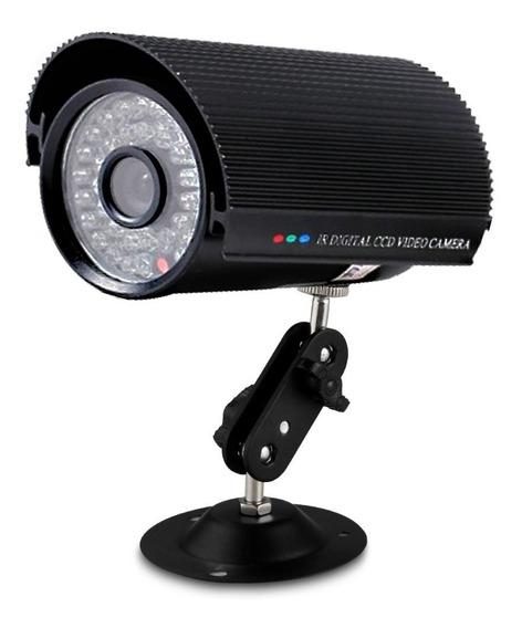 Câmera De Segurança Digital Analógica Infravermelho 36 Led