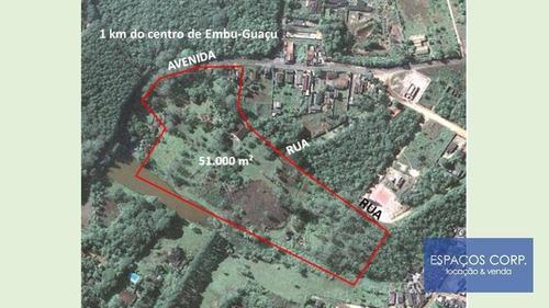 Imagem 1 de 20 de Terreno À Venda, 51000m² Por R$ 4.600.000 - Filipinho - Embu-guaçu/sp - Te0078