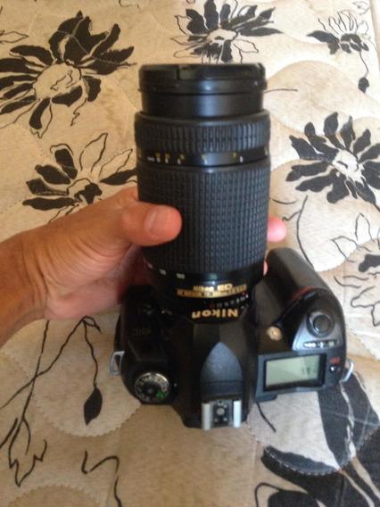 Câmera Nikon D70s + Lente 70 300 Af (leia)