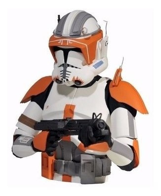 Cofre Moedas Commander Cody Trooper Wars Star Wars Diamond