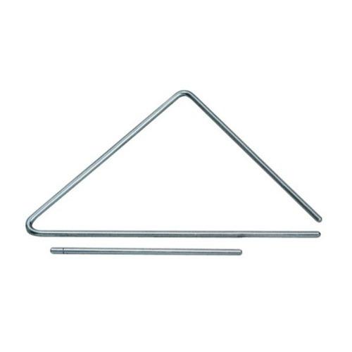 Triângulo 25 Cm Cromado De Aço Torelli Tl600