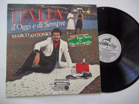 Lp Vinil - Marco Antonio - Italia D