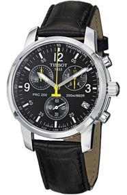 Relógio Tissot Prc200 T17.1.516.52 Preto Couro Original