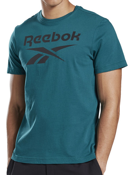 Remera Reebok Training Stacked Hombre Pe