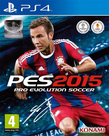 Pró Evolution Soccer 2015 Novo Lacrado Midia Fisica