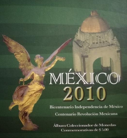 Álbum Coleccionador De Monedas Conmemorativas De $5
