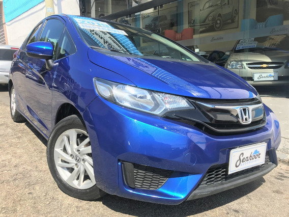 Honda Fit Lx 1.4 Flex Automático Azul 2015